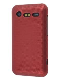 HTC Incredible S Dream Mesh Case - Burgundy Red