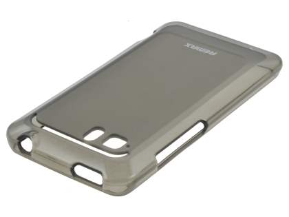 REMAX HTC Velocity 4G Frosted TPU Case - Frosted Grey