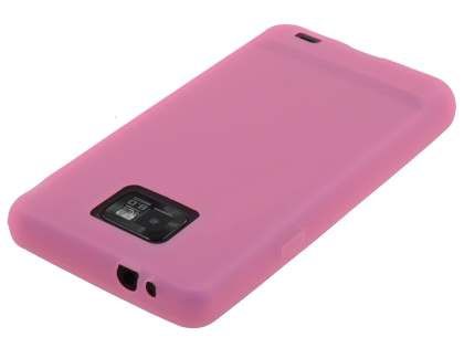 Samsung  I9100 Galaxy S2 Silicone Case - Pink