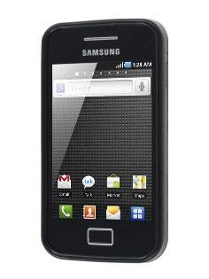 Samsung Galaxy Ace S5830 Frosted Colour TPU Gel Case - Black