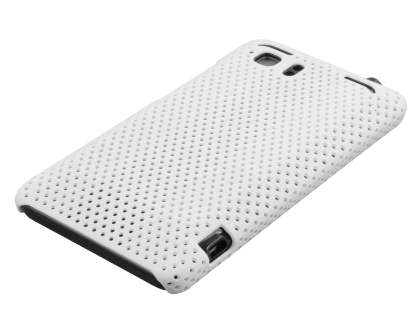 HTC Velocity 4G Slim Mesh Case - White