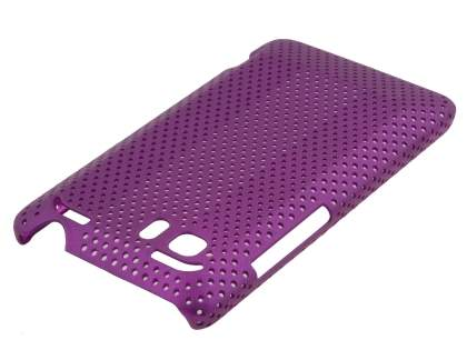 HTC Velocity 4G Slim Mesh Case - Purple