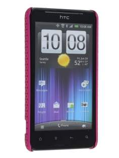 HTC Velocity 4G Slim Mesh Case - Hot Pink