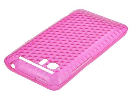 HTC Velocity 4G TPU Gel Case - Diamond Pink