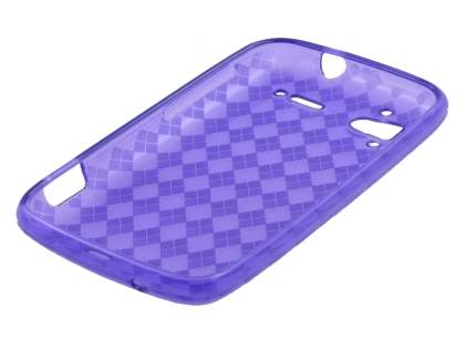 HTC Sensation TPU Gel Case - Purple