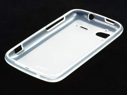 HTC Sensation TPU Gel Case - Frosted Clear