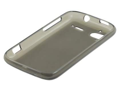 HTC Sensation TPU Gel Case - Frosted Grey
