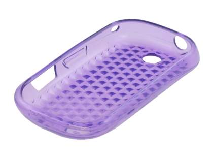 Samsung I5500 Galaxy 5 Corby Diamond TPU Case - Purple