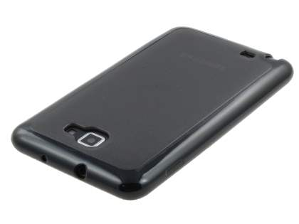 Dual-Design Case for Samsung I9220 Galaxy Note - Black