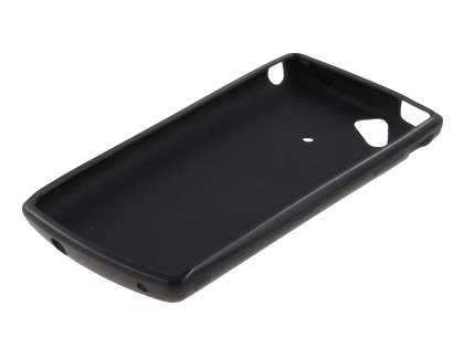 Sony Ericsson XPERIA Arc/Arc S Frosted Colour TPU Gel Case - Black