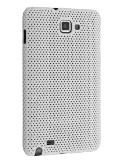 Samsung I9220 Galaxy Note Slim Mesh Case - White