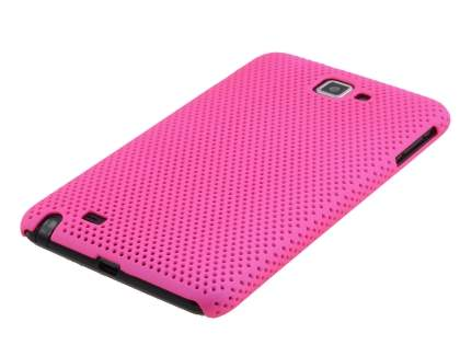 Samsung I9220 Galaxy Note Slim Mesh Case - Hot Pink