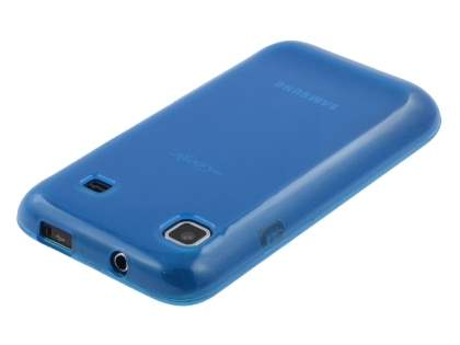 Samsung I9000 Galaxy S Frosted Colour TPU Gel Case - Blue