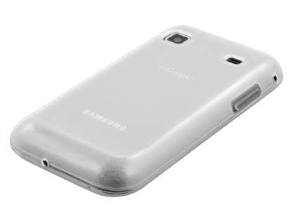Samsung I9000 Galaxy S Frosted Colour TPU Gel Case - Clear
