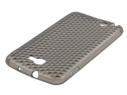 Samsung I9220 Galaxy Note TPU Gel Case - Diamond Grey