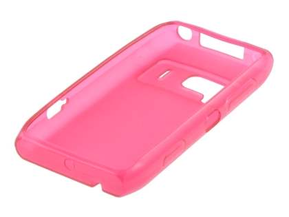Nokia N8 Frosted Colour TPU Gel Case - Pink