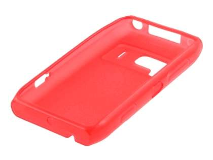 Nokia N8 Frosted Colour TPU Gel Case - Red