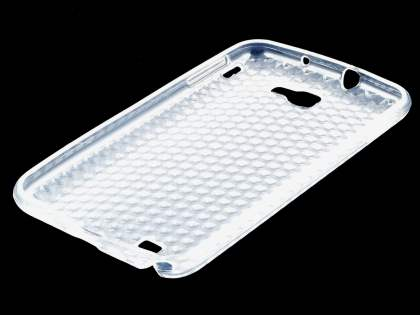 Samsung I9220 Galaxy Note TPU Gel Case - Diamond Clear