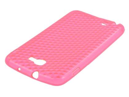Samsung I9220 Galaxy Note TPU Gel Case - Diamond Pink