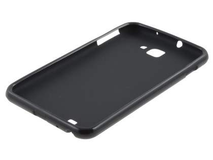 Samsung I9220 Galaxy Note Frosted Colour TPU Gel Case - Black
