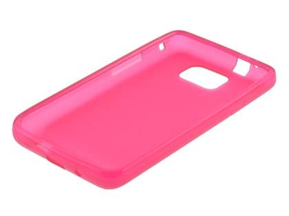 Samsung I9100 Galaxy S2 Frosted Colour TPU Gel Case - Pink