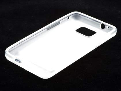 Samsung I9100 Galaxy S2 Frosted Colour TPU Gel Case - Clear