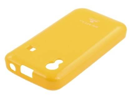 Mercury Glossy Gel Case for Samsung Galaxy Ace S5830 - Canary Yellow