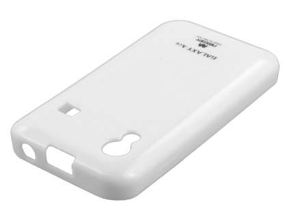 Mercury Glossy Gel Case for Samsung Galaxy Ace S5830 - Pearl White