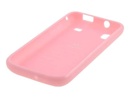 Mercury Glossy Gel Case for Samsung I9000 Galaxy S - Baby Pink