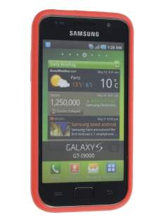 Mercury Glossy Gel Case for Samsung I9000 Galaxy S - Red