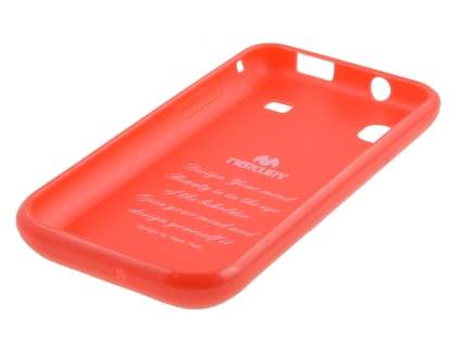Mercury Goospery Glossy Gel Case for Samsung I9000 Galaxy S - Red