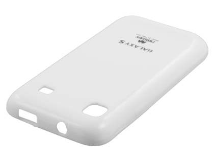 Mercury Glossy Gel Case for Samsung I9000 Galaxy S - Pearl White