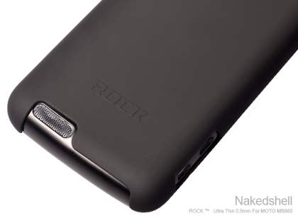 ROCK Nakedshell Case for Motorola ATRIX 4G MB860 - Taupe