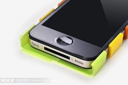 ROCK Glossy Mix-&-Match Case for Apple iPhone 4S/4