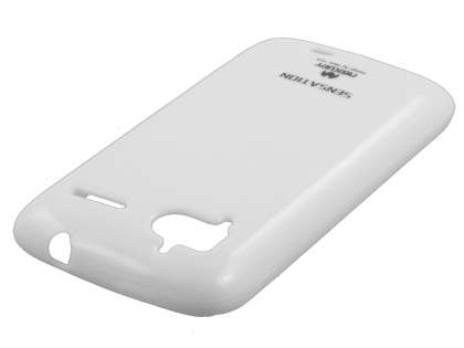Mercury Glossy Gel Case for HTC Sensation - Pearl White