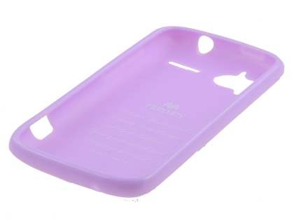 Mercury Glossy Gel Case for HTC Sensation - Lavender Purple
