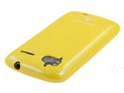 Mercury Glossy Gel Case for HTC Sensation - Yellow