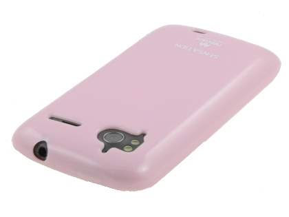 Mercury Glossy Gel Case for HTC Sensation - Baby Pink
