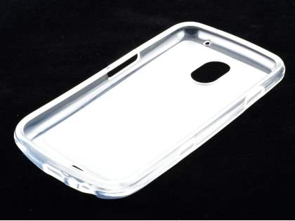 REMAX Samsung I9250 Google Galaxy Nexus Frosted TPU Case plus Screen Protector - Frosted Clear