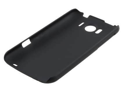 POLAISHI HTC Sensation XL Ultra Slim Case plus Screen Protector - Classic Black