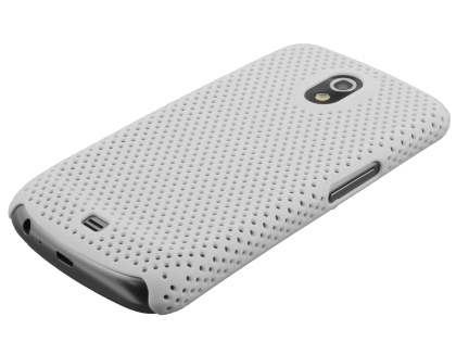 Samsung I9250 Google Galaxy Nexus Slim Mesh Case - White