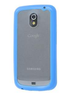 Samsung I9250 Google Galaxy Nexus Dual-Design Case - Blue/Clear