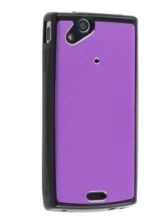 Sony Ericsson Xperia Arc/Arc S Brushed Aluminium Case - Lavender Purple