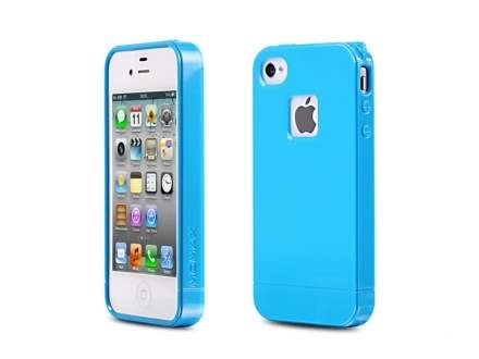 MOMAX iCase Shine for Apple iPhone 4S/4 - Sky Blue