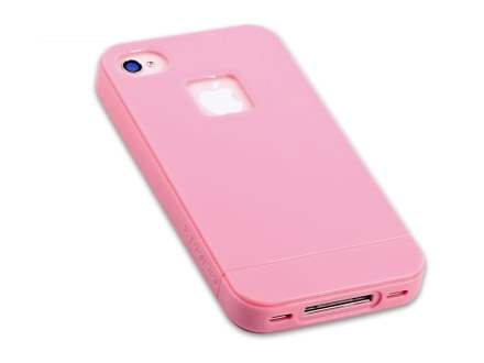 MOMAX iCase Shine for Apple iPhone 4S/4 - Baby Pink