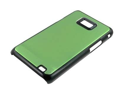 Brushed Aluminium Case for Samsung Galaxy S2 - Green