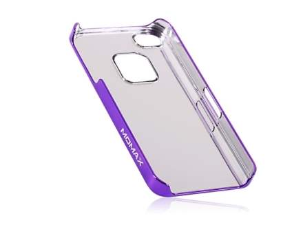 MOMAX Ultra-Thin Metallic Case for Apple iPhone 4S/4 - Purple