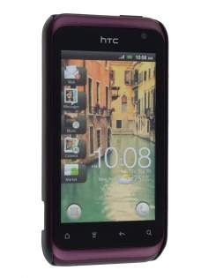 HTC Rhyme Brushed Aluminium Case - Night Black