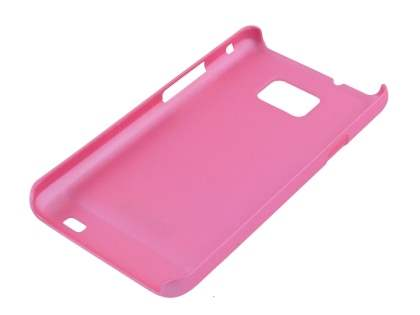 Rubberised Colour Case for Samsung I9100 Galaxy S2 - Baby Pink