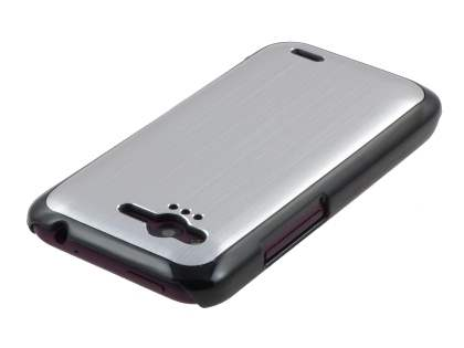 HTC Rhyme Brushed Aluminium Case - Silver